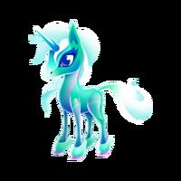 Crystal Unicorn Juvenile