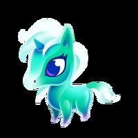 Crystal Unicorn Baby