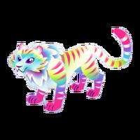 Tye-Dye Tiger Adult