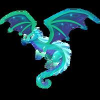 Emerald Dragon Adult