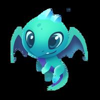 Emerald Dragon Baby