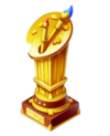 Gold Artist Trophy