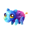 Rock Candy Rhino Baby