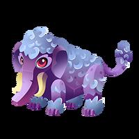 Steel Woolly Mammoth Juvenile
