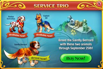 The Service Trio