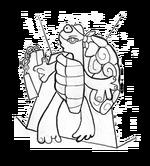 Avant garde turtle
