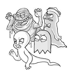 Gaggle of ghosts 3