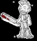 Zombie hunter slackninja m