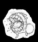 Voracious dustbunny combat
