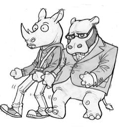 Hiphopopotamus & rymenoceros