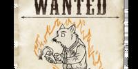 Wanted: Fiery Wolfman Alpha