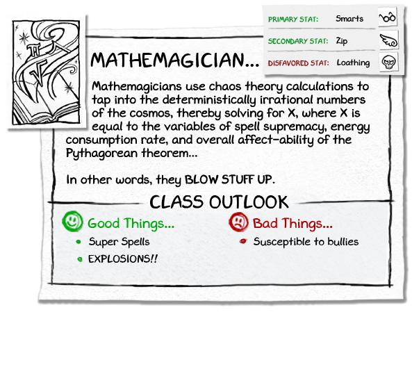 Info expanded mathemagician