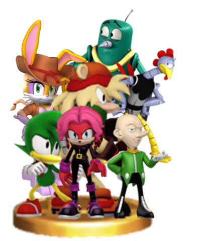 File:Sonic Universe characters 2.png