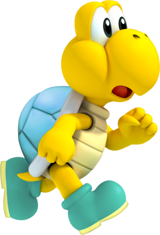 File:Silver Shelled Koopa Troopa Art.png