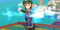 Luigi Cyclone (SSBGA)