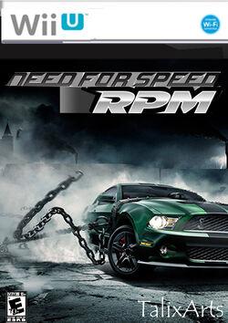 NFSRPM Wii cover