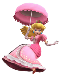 Peach parasol by banjo2015-d8my539