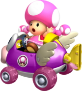 Toadette cheep charger by tonytoad22-d3ic8um