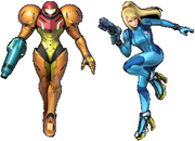 Samus or Zero Suit Samus