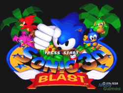 180652-sonic-mega-collection-gamecube-screenshot-sonic-3d-blast-title