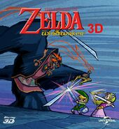 The Wind Waker Movie Blu-ray 3D Cover