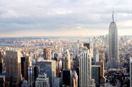 Istockphoto 1962601-new-york-skyline-at-sunset