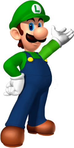 File:Luigi 3D Fanart.png