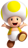 Yellow Toad SM3DW