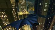 Gliding Gotham City