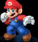 Mario Artwork (alt) - Super Smash Bros. Wii U 3DS