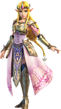 334px-Hyrule Warriors - Zelda Artwork