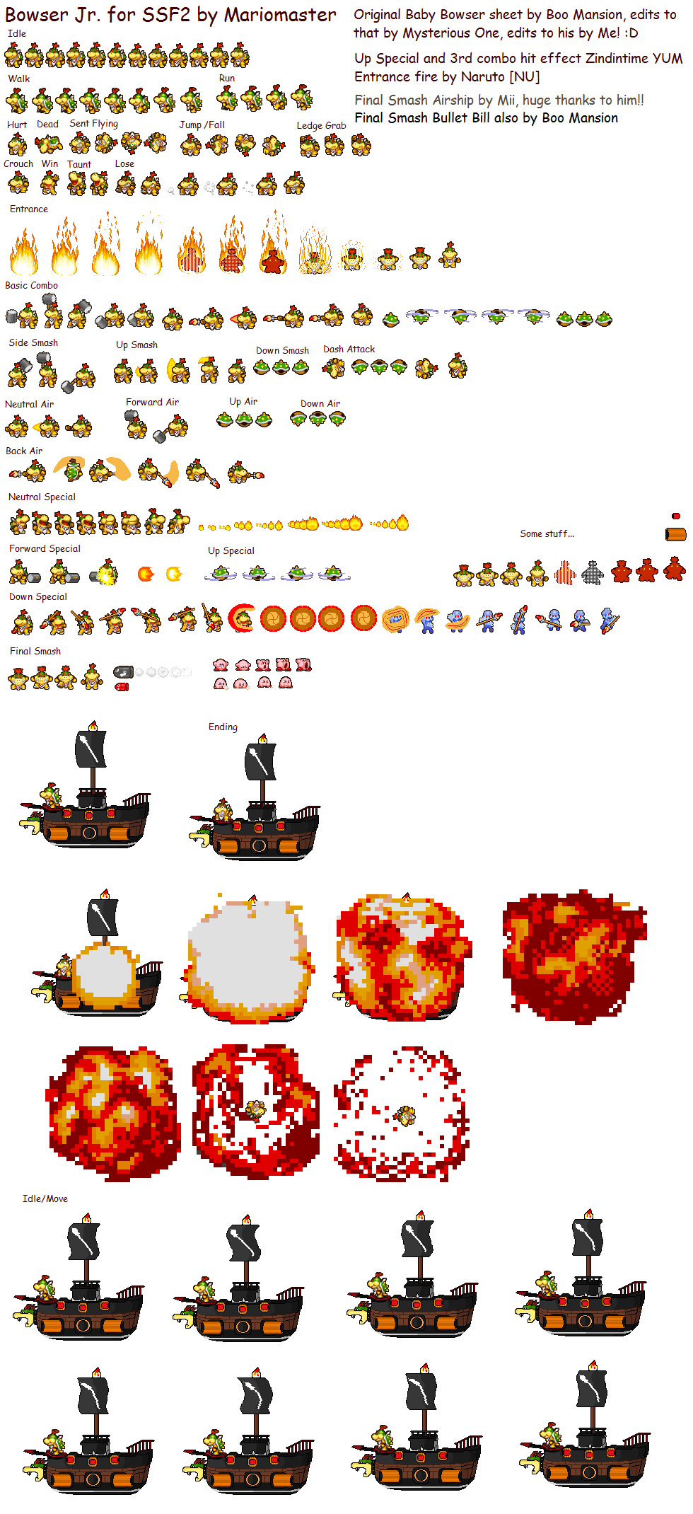 Bowser Sprite Images - Reverse Search