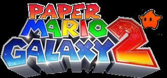 Paper Mario Galaxy 2 Logo