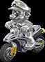 Metal Mario MK8 Icon
