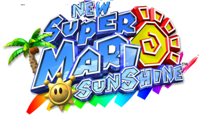File:New Super Mario sunshine Logo.png