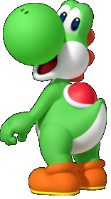 Yoshi the White Bubble