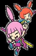 Kat and Ana WarioWare Mega Party Games