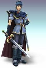 Marth - Nintendo All-Stars