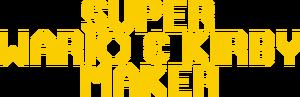SuperWario&KirbyMakerLogoYellow