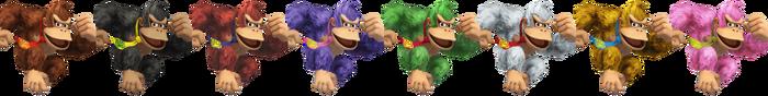Donkey Kong Palette (SSB4)