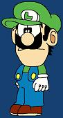 Manga Luigi-kun Standard Idle MLMM