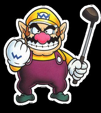 MarioGolfBadge Wario