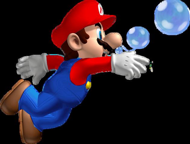 File:Swimming Mario.png