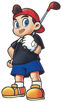 MarioGolfBadge Kid2