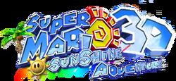 Super Mario Sunshine 3D Adventure logo