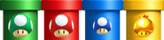 Mushroom Pipes