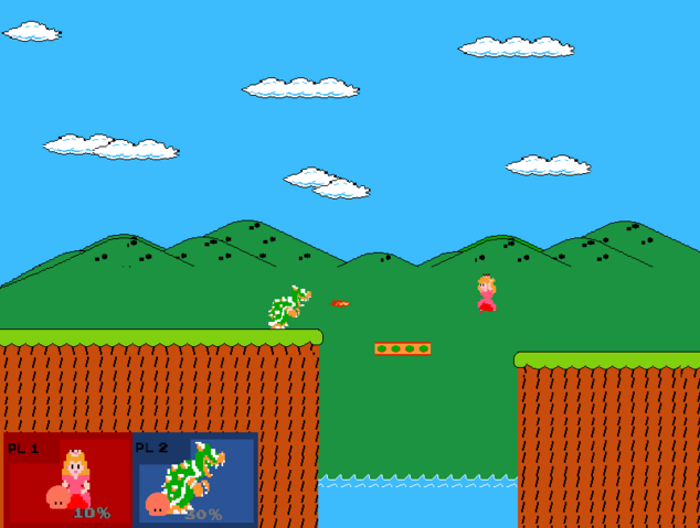 File:Smash Bros NES free for all 2player.png