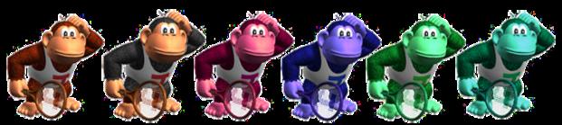 Donkey Kong Jr Palette