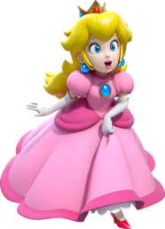 Princess Peach Artwork - Super Mario 3D World