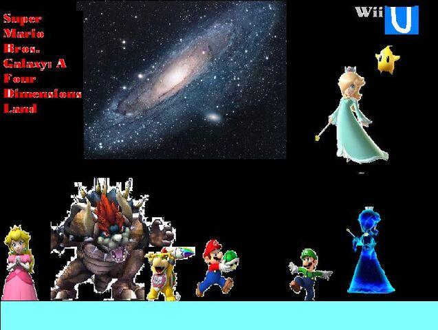 File:Super Mario Bros. Galaxy A Four Dimensions Land Wii U.jpg